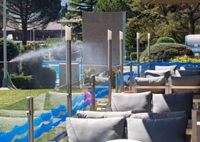 restaurant piscine aigle